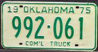 OKLAHOMA 1975 COMMERCIAL TRUCK