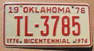 1976 OKLAHOMA