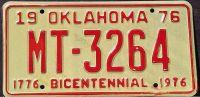 OKLAHOMA 1976