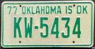 OKLAHOMA 1977 - A