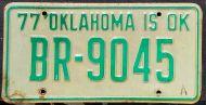 OKLAHOMA 1977