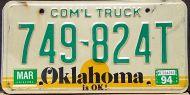 OKLAHOMA 1994 COMMERCIAL TRUCK