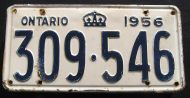 ONTARIO 1956