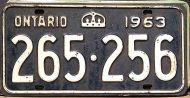 ONTARIO 1963