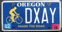OREGON 2019 SHARE THE ROAD