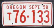1958 OREGON QUARTERLY TRUCK - SEPTEMBER