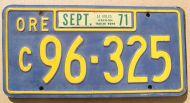 1971 OREGON TRAILER COACH