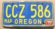 OREGON 1972