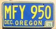 1973 OREGON