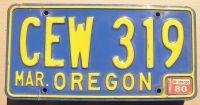 OREGON 1980 BLUE
