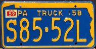 PENNSYLVANIA 1959 TRUCK