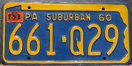 PENNSYLVANIA 1963 SUBURBAN