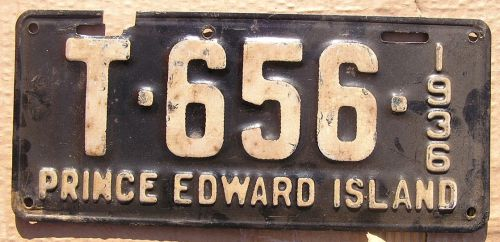 PRINCE EDWARD ISLAND 1936 TRUCK