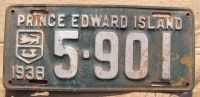 PRINCE EDWARD ISLAND 1938