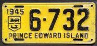 PRINCE EDWARD ISLAND 1945