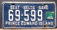 PRINCE EDWARD ISLAND 1979