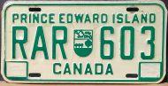 PRINCE EDWARD ISLAND 1981