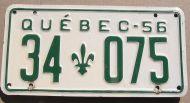 QUEBEC 1956