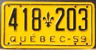 QUEBEC 1959