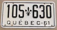 QUEBEC 1961