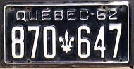 QUEBEC 1962