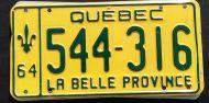 QUEBEC 1964