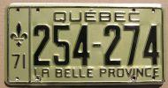 QUEBEC 1971