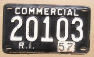 1957 RHODE ISLAND COMMERCIAL