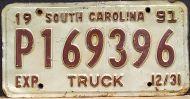 SOUTH CAROLINA 1991 TRUCK