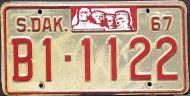 SOUTH DAKOTA 1967