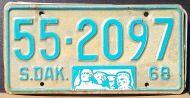SOUTH DAKOTA 1968