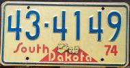 SOUTH DAKOTA 1974