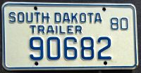 SOUTH DAKOTA 1980 TRAILER