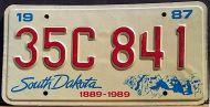 SOUTH DAKOTA 1987 - B