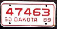 SOUTH DAKOTA 1988 MOTORCYCLE