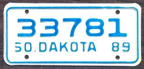 SOUTH DAKOTA 1989 MOTORCYCLE