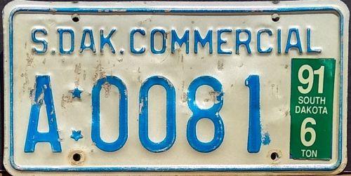 SOUTH DAKOTA 1991 COMMERCIAL