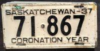 SASKATCHEWAN 1937