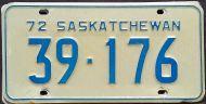 SASKATCHEWAN 1972
