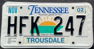 TENNESSEE 2002