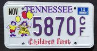 TENNESSEE 2014 CHILDREN FIRST