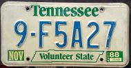 TENNESSEE 1988