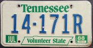 TENNESSEE 1988 - A