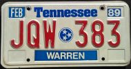 TENNESSEE 1989