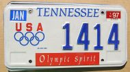 TENNESSEE 1997 OLYMPIC SPIRIT