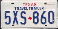 TEXAS TRAVEL TRAILER