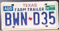 TEXAS 2000 FARM TRAILER