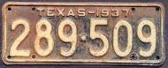 TEXAS 1937