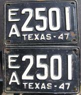 TEXAS 1947 PAIR