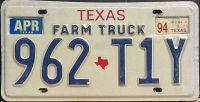 TEXAS 1994 FARM TRUCK